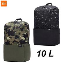2020 yeni Xiaomi sırt çantası 10L çantası Mi sırt çantası kentsel eğlence spor göğüs paketi çanta erkek kadın küçük boy omuz Unise
