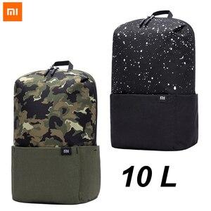 Image 1 - Xiaomi mochila 10l unise, bolsa esportiva unise, urbano, para homens e mulheres, pequena, bolsa de peito 2020