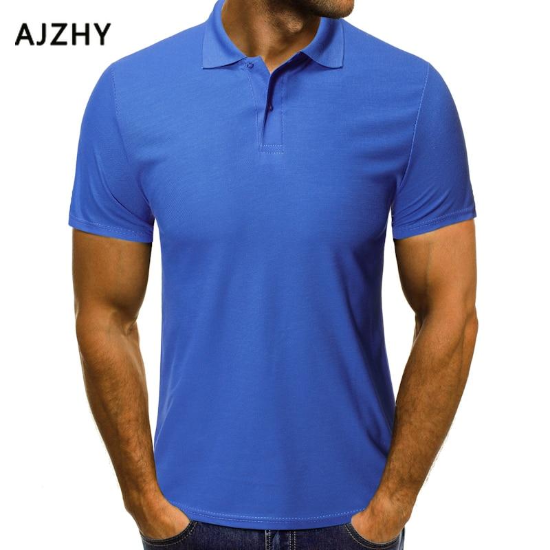 2019 New Summer High Quality Brand Men   Polo   Short Sleeve Shirt Fashion Casual Solid   Polo   Shirt Women Shirts Undershirts