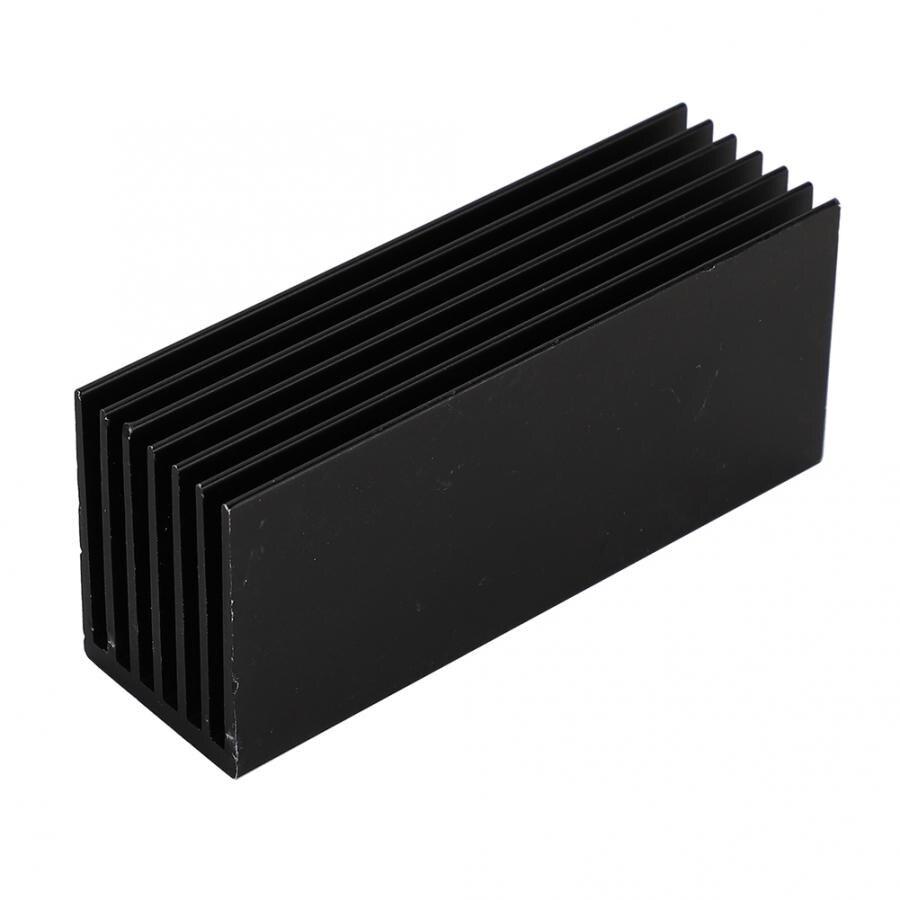 Aleación de aluminio, disipador térmico, aleta de refrigeración para ordenadores de sobremesa m2 SSD 2280 pci-unidad de estado sólido nuevo