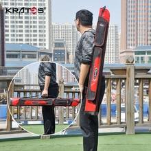Рыболовная Сумка для рыболовных удочек 1,25 м, водонепроницаемый жесткий чехол, удочка для удочек, Тайвань, сумка для удочек, специальное предложение, рыболовные снасти S