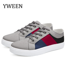 YWEEN Men Casual Shoes Autumn Canvas Breathable Walking Chaussure Homme Factory sales