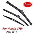Щетки стеклоочистителя MIDOON для Honda CRV CR-V 2007-2011 3-го поколения, комплект передних и задних стеклоочистителей 2008 2009 2010 26