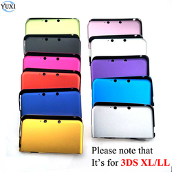 YuXi Aluminum Hard Metal Box Protective Skin Cover Case Shell For Nintendo For 3DS XL LL