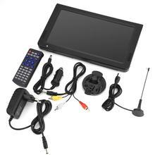LEADSTAR 10 pouces téléviseurs analogiques numériques voiture télévision DVB-T-T2 1024x600 résolution Portable TV tv portatil Portable TV