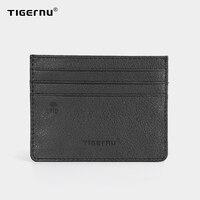 Tigernu Anti theft RFID Sperrung Karte Halter Männer Brieftasche Dünne dünne Kurze Geldbörse Männlichen Kleine Künstliche Leder Hohe Qualität Für männer