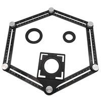 Aluminum Alloy Six-Sided Ruler