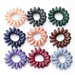 Bracelet élastique en fil de téléphone | Anneau de cheveux de gomme surdimensionné, accessoires pour cheveux, Bracelets en caoutchouc pour filles, bandeau