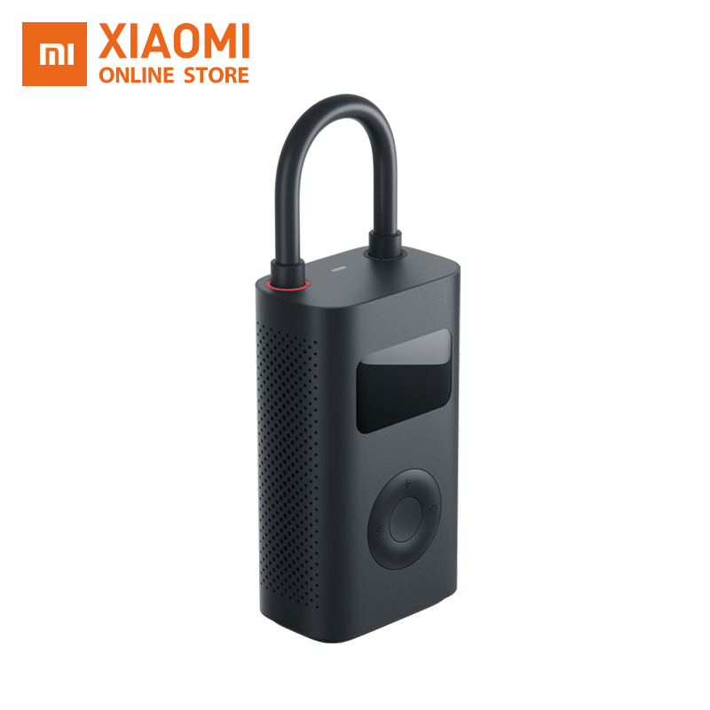 Original Xiaomi Mijia Inflatable Tire Pressure Digital Monitor Electric Inflator Pump For Bike Motorcycle Inflatable Treasure
