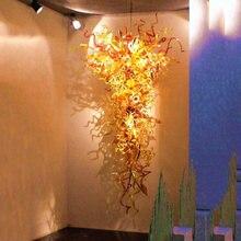 Роскошные большие люстры из муранского стекла светодиодный источник