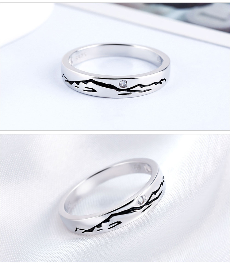 Hed150c13d5b3479398988880ae9279f5p - Sterling Silver Rings Jewelry Crystal Ring Fine Jewelry Romantic Engagement Ring Fashion Jewelry Punk Round Ring