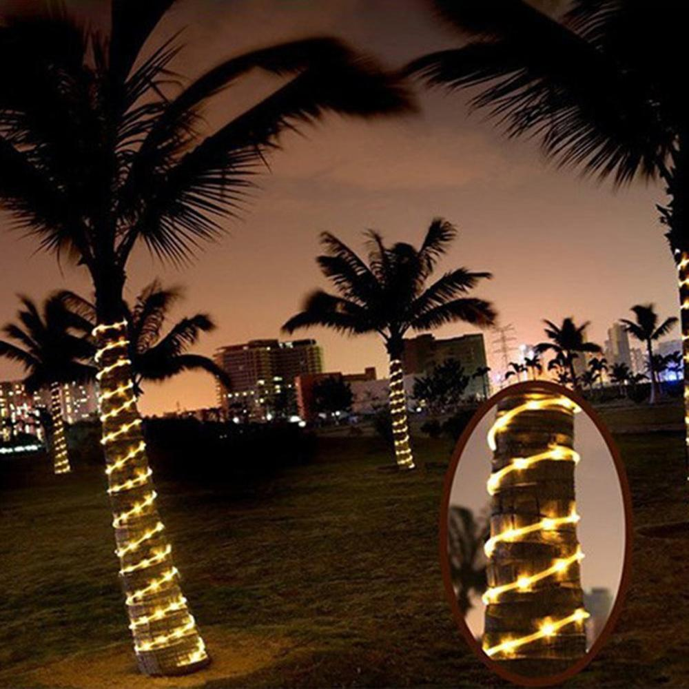Solar Rope Lights Outdoor String