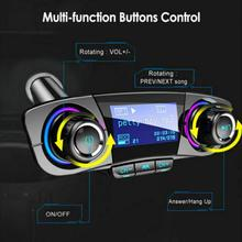 Bluetooth Car Kit Hands Free Talking Car MP3 Music Player Audio FM Transmitter support SD Card USB Car Charger Bluetooth FM bt 760 bluetooth fm transmitter car kit mp3 player support mic call