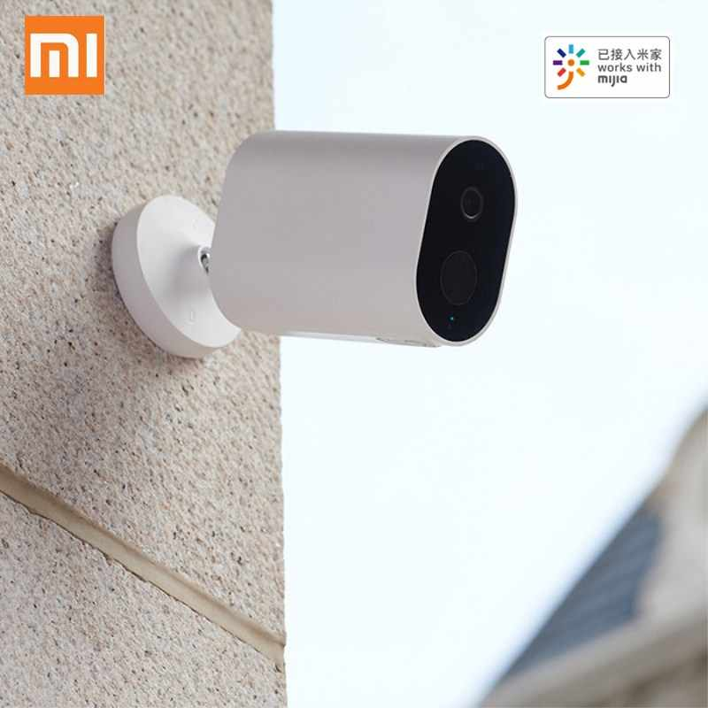Xiaomi Mijia Smart IP Camera dengan Baterai GATEWAY 1080P Ai Humanoid Aplikasi Deteksi Kontrol IP65 Outdoor Nirkabel Smart Camera