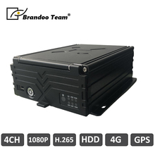 4 kanal auto dvr Mobile DVR Auto Video Recorder 4 kanal HDD 1080P kanzler HDD Auto DVR GPS 4G MDVR