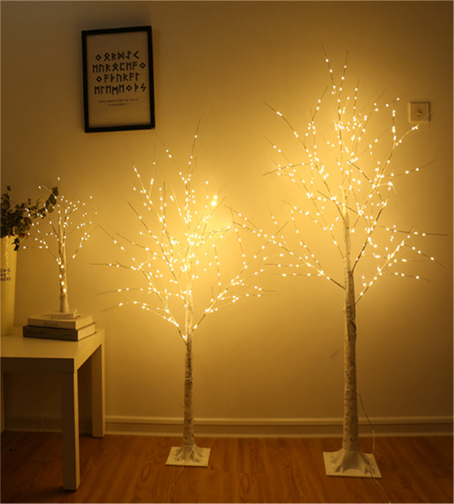 Illuminated Tree Lights LED Christmas Simulation Tree Lights Rose Tree Lights Home Decoration Tree Lights