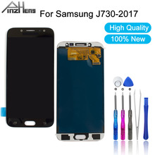 PINZHENG AAAA Quality LCD For Samsung Galaxy J7 Pro 2017 J730 J730F Display Screen Digitizer Assembly
