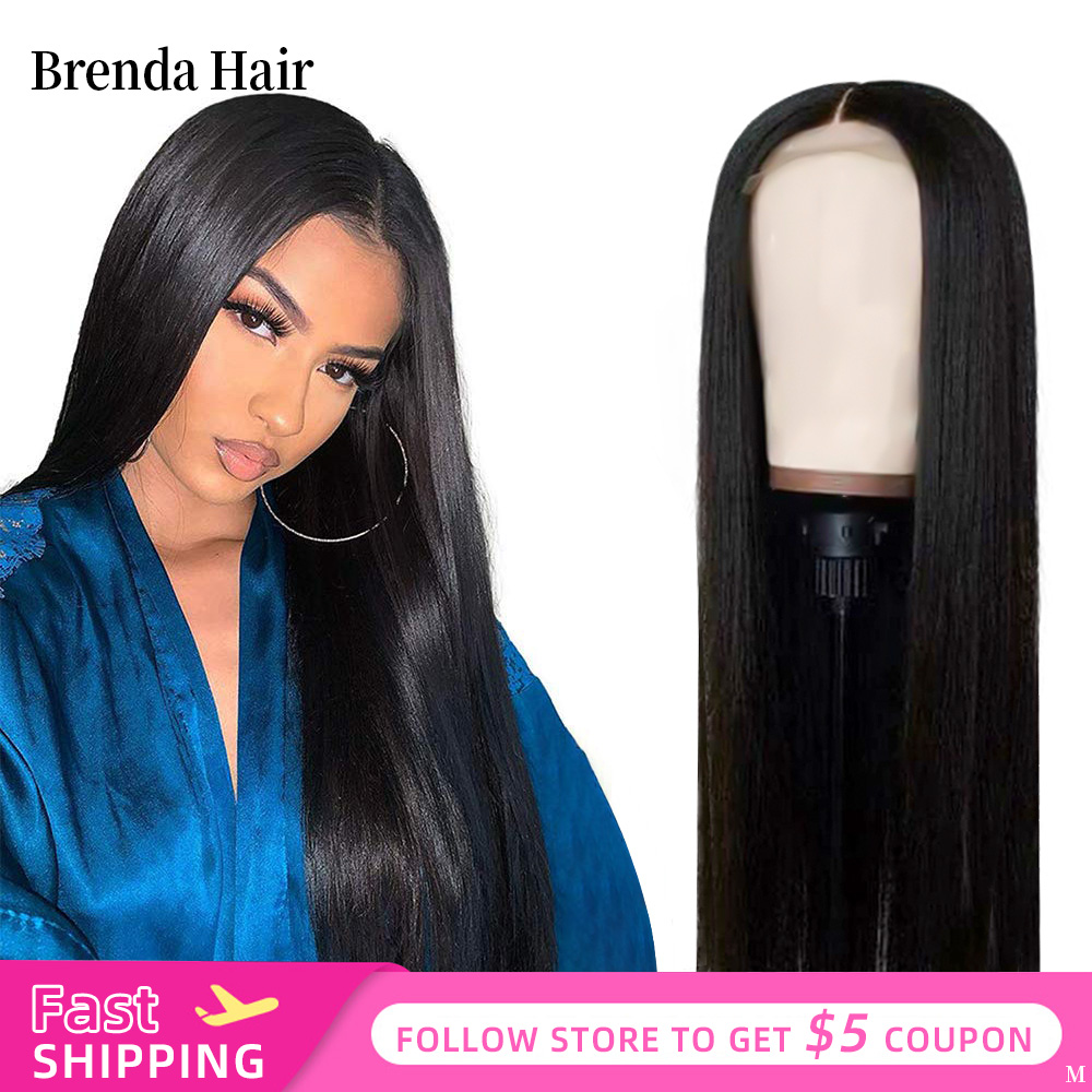 Brenda Hair 13x4/13x6 Lace Front Human Hair Wigs Brazilian Straight Human Hair Wigs Lace Frontal Wig Pre Plucked With Baby Hair