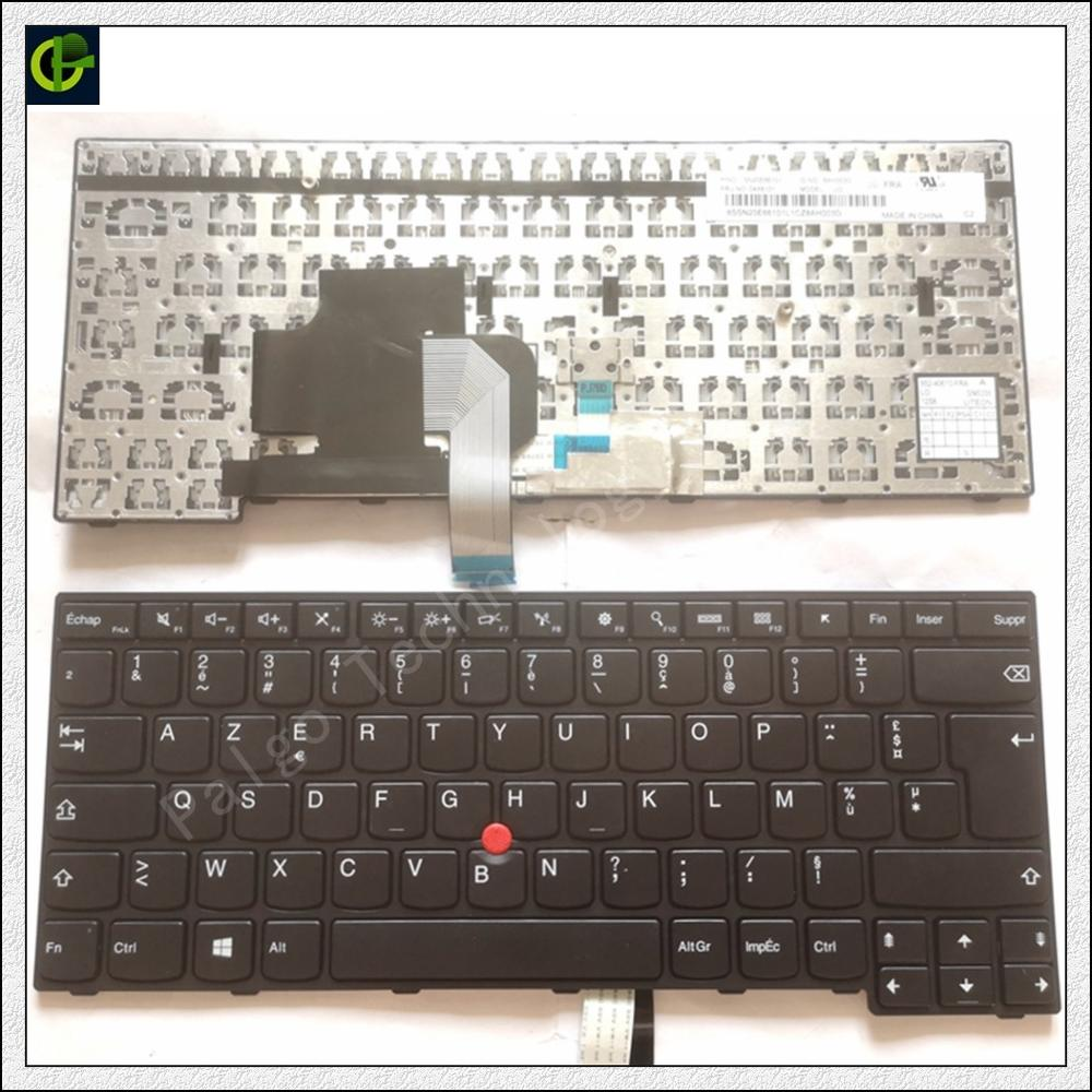 French Azerty <font><b>Keyboard</b></font> for <font><b>Lenovo</b></font> IBM ThinkPad Edge E450 E450c E455 <font><b>E460</b></font> E465 W450 04X6141 04X6181 04x6101 laptop FR image