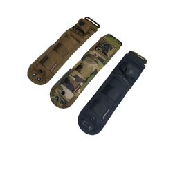 Tactical Combat Fixed Blade MOLLE Multi-Use Survival Handle Knife Sheath Case Pouch for SOG M37 140 141 / Hard Liners
