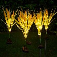 Уличсветодиодный Светодиодная лампа на солнечной батарее водонепроницаемый