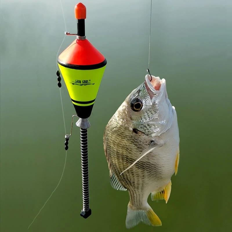 Portable Automatic Fishing Float Fast Fishing Bobber Set Fishing Float