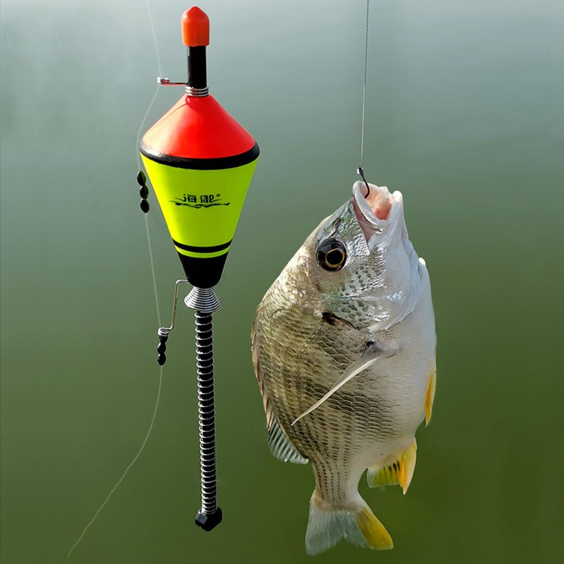 Portable Fishing Float Device Automatic Fishing Float Fishing Accessories Fast Fishing Bobber Set