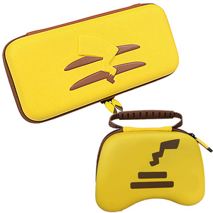 Comic Theme Bag for Nintendo Switch & Pro Controller Storage Case Yellow Picachu Enhanced Bag Anti Shock Hard Waterproof Pouch(China)