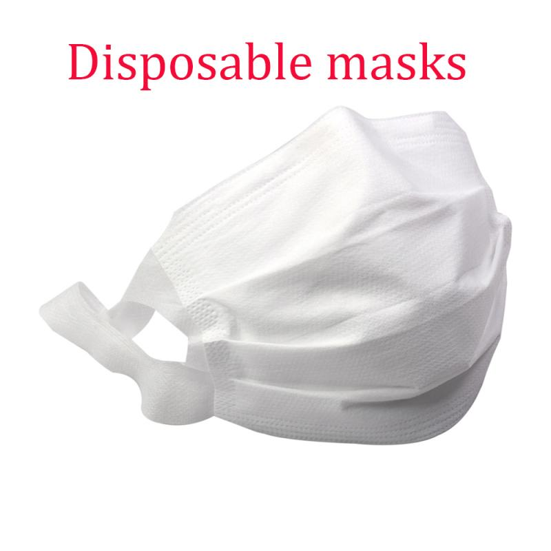 Disposable Mouth Mask PM2.5 Filter Dust-proof Breathable 3-layer Cotton Reusable Anti Dust Proteccion Face Mask As Kn95 Mask