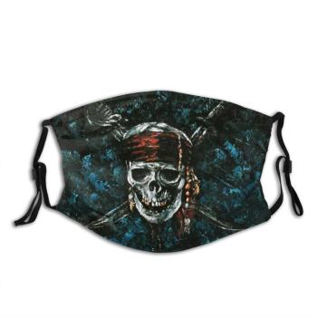 Pirate Jolly Roger Adult Kids Anti Dust Filter Diy Mask Pirate Jolly Roger Pirate Of The Caribbean Caribbean Sparrow Jack pirates of the caribbean action figure captain jack sparrow