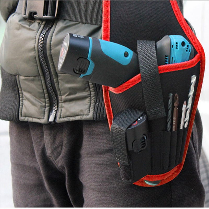 Hot Tools Belt Electrician Bags For Tools High Quality Tool Bag Waist Belt Organizer Durable Hardware Portable Toolkit 2018