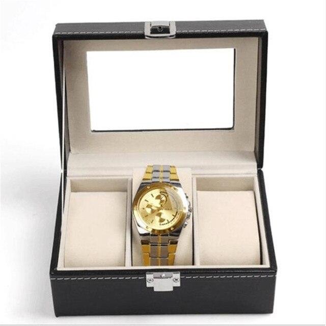 Watch Box PU Leather Organizer 4