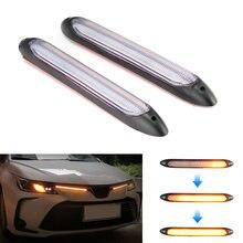 Niscarda 2x Светодиодные Автомобильные drl дневные ходовые огни