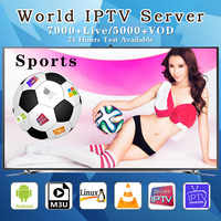 HD World 1 Year Subscription M3u IPTV France Portugal Spain Italy USA Brazil Dutch xxx For Smart TV Android Box PC Windows VLC