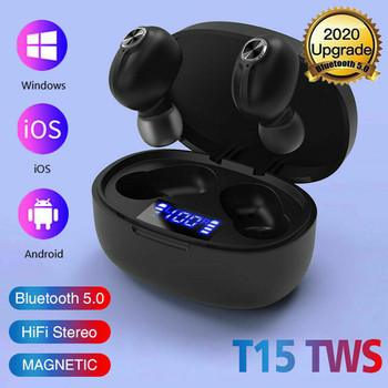 Free Shipping Ouhaobin Wireless Headphones Bluetooth Earbuds 5.0 Noise Canceling Waterproof Headset  Auriculares azules