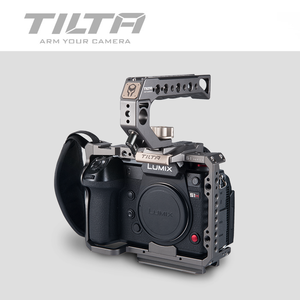 Image 4 - Tilta TA T38 A G DSLR rig Camera CAGE FOR PANASONIC S1H S1 S1R camera full cage S1H rig top handle side focus handle