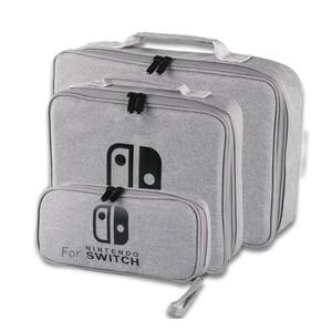 Image 2 - S/M/L 스위치 스토리지 가방 닌텐도 스위치 게임 콘솔 액세서리 여행 핸드백 NS 보호 케이스 유리 필름 3in1 세트