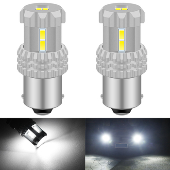 2pcs P21W 1156 BA15S LED Auto Reverse DRL Tail Light Car Bulb 3020SMD Bulb For BMW E30 E36 E46 E34 X3 X5 E53 E70 Z3 Z4 3 5 Serie image