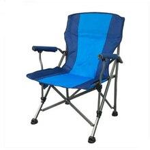 High Quality Outdoor Large Fishing Chair Portable Folding Chair Stool Leisure Beach Sketching Chair Oxford Cloth Iron cadeira стоимость