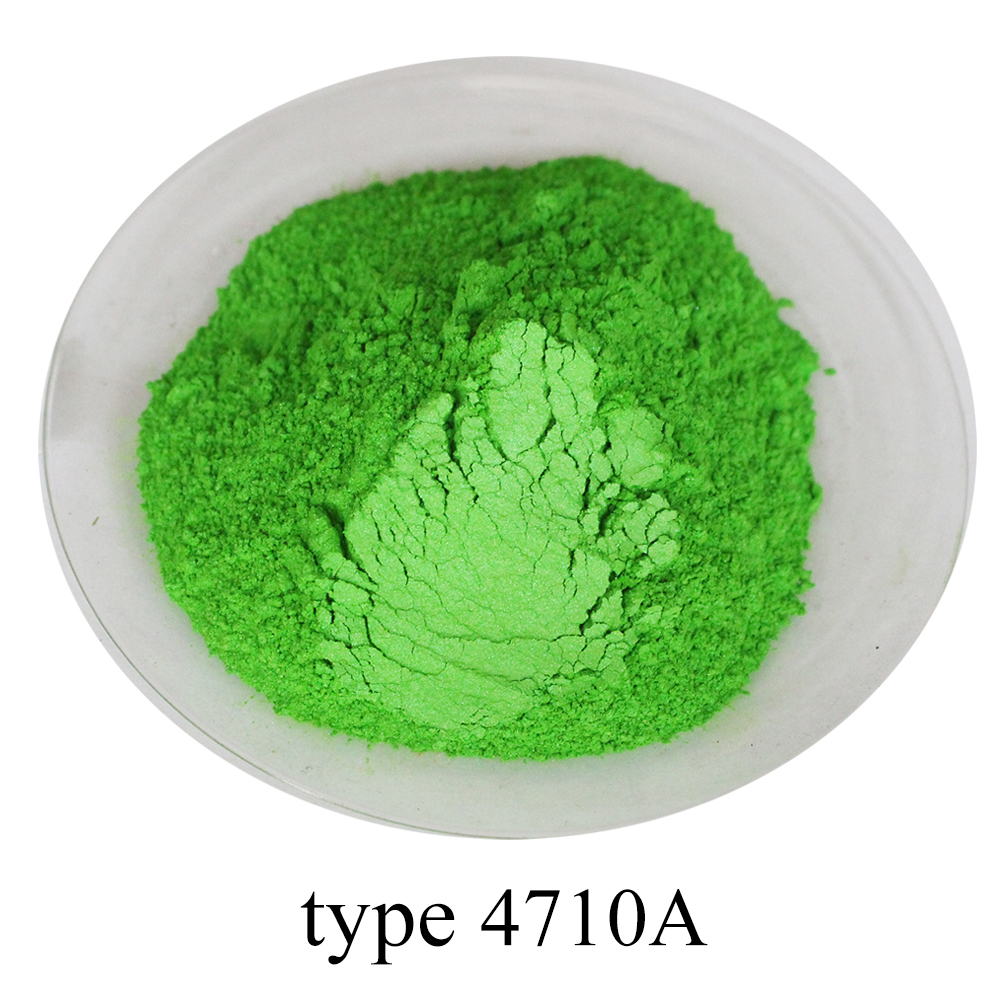 Type 4710 Pearl Dust Mineral Mica Pigment For Paint Soap Automotive Art Crafts Decoration Shimmer Gold Paint Powder Coating