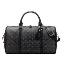 2021 neue Reisetasche Männer Luxus Designer Duffle Tasche frauen Große Kapazität männer Handtaschen Leder Wochenende Tote Gepäck Tasche totes