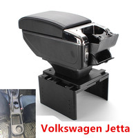 for Volkswagen Jetta VI armrest box USB Charging interface heighten central Store content box cup holder ashtray accessories|Armrests|   -