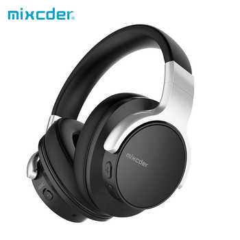 Mixcder E7 Active Noise Cancelling Wireless Bluetooth Headphones with Mic Hi-Fi Stereo Headset Deep Bass Over Ear Headphone - DISCOUNT ITEM  52 OFF All Category