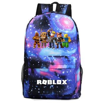 2020 Blue Starry kids backpack school bags for boys with Anime Backpack For Teenager Kids mochila