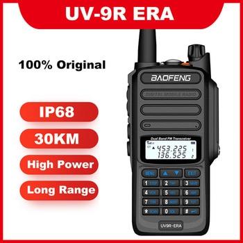 2020 IP68 Waterproof walkie talkie long range 10km 30km 10w baofeng UV-9R ERA plus cb ham hf transceiver UHF VHF radio station