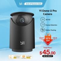 YI Dome U Pro Sicherheit Kamera 2K HD IP Cam Pan & Tilt Mit Wifi 360 ° Auto Cruise hause Menschliches & Pet AI Stimme Kompatibilität
