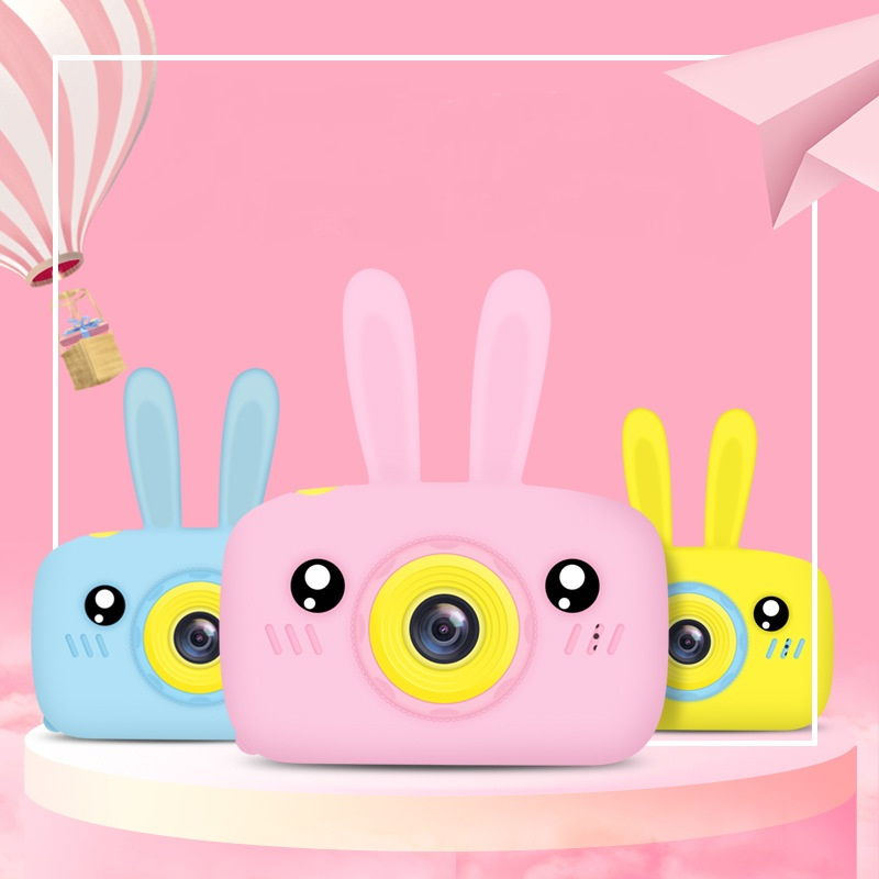 Children's Camera Cartoon Digital Camera Toys Creative Educational Photography Training Accessories Birthday Gifts Baby Product