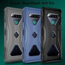 Phone Case for Xiaomi BlackShark 4 All Inclusive Soft Shockproof Cross Design Heat Dissipation Case Black Shark 4 Pro Cover