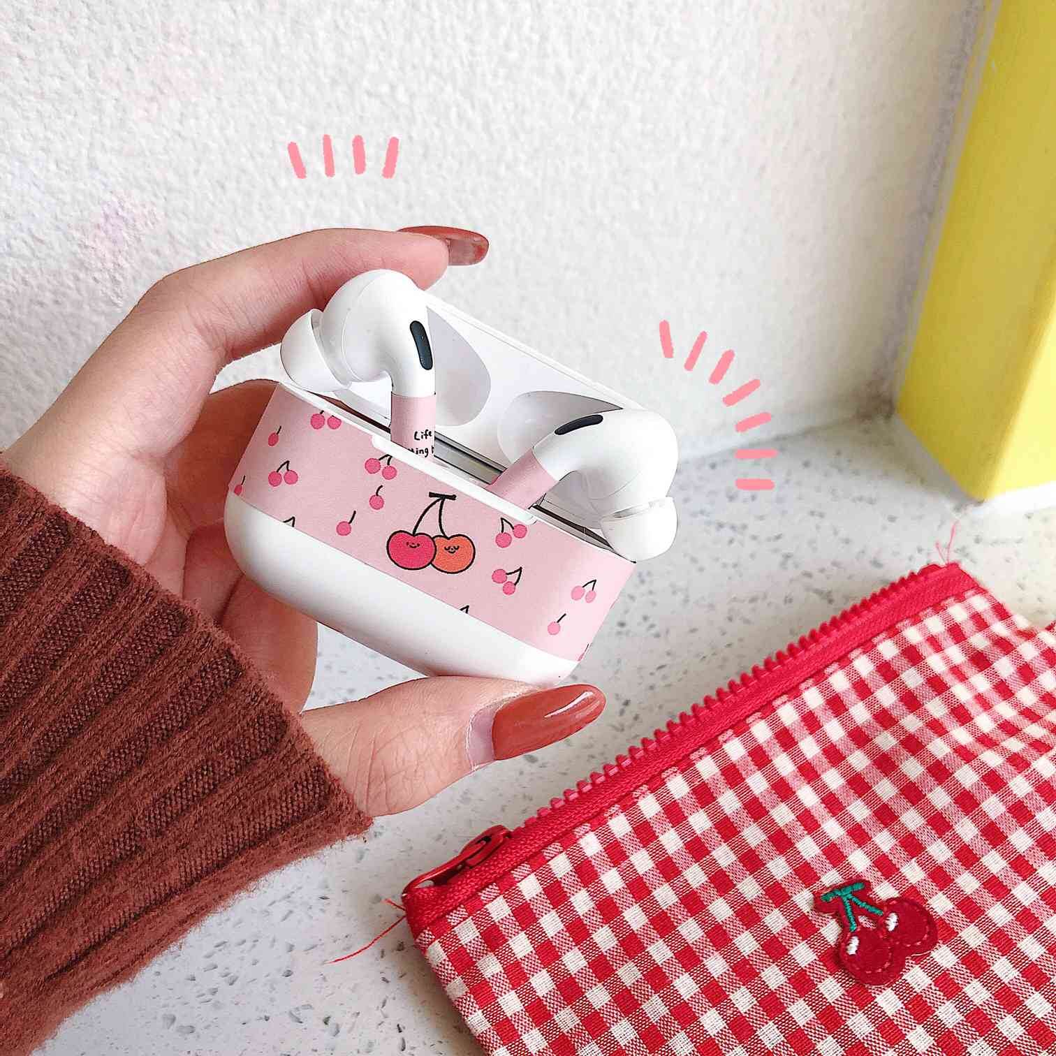 Cartoon Sticker Dust Guard for AirPods Pro 17