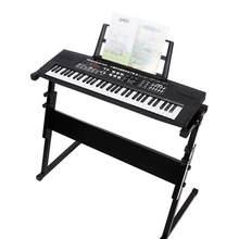 61 teclas de música eletrônica piano brinquedo multi-função display led piano brinquedo cedo instrumento de música educacional para crianças